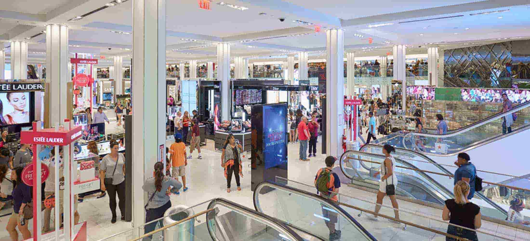 reinventing the department store