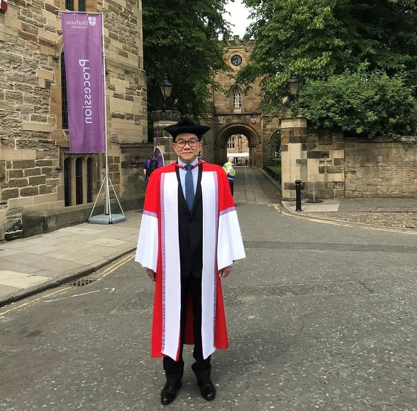 Dr Samuel Ma at Durham University