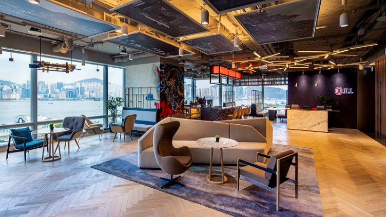JLL's new Hong Kong office pioneers integrated high-tech and wellness concepts